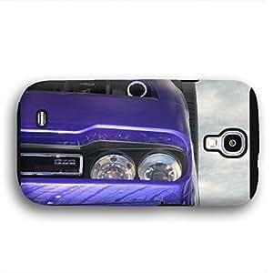 2010 to 2014 Dodge Challenger Purple Samsung Galaxy S4 Armor Phone Case