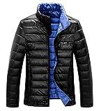 Z-SHOW™ Men's Packable Down Puffer Jacket(Black),US M