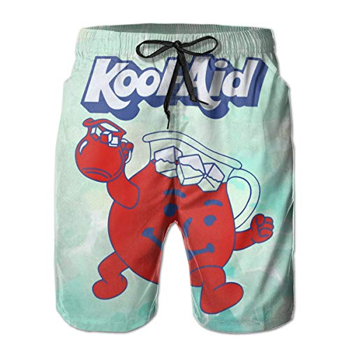 Kool Aid Man Name (Mens Casual Kool-Aid?Man Beach Shorts Swim)