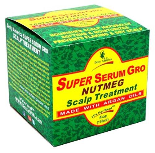 Deity Super Serum Gro Nutmeg Scalp Treatment 4oz