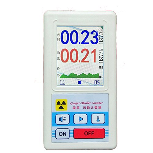 Professional Geiger counter Nuclear radiation detector Personal dosimeters Marble detector nuclear radiation meter Beta Gamma X ray data marble tester
