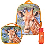 3D Backpack, Lunchbox, & Water Bottle Back to School Set