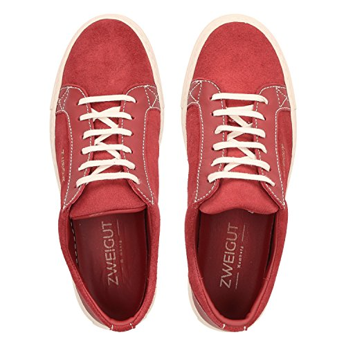 Schuhe 412 Nachhaltig Autositze Rot Dem Herren und Echt Alter Sneaker upcycling aus Leder Hamburg Leder Zweigut x6PEa