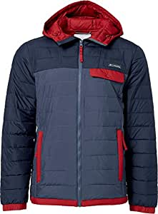 Columbia Men's Mountainside Full Zip Insulated Jacket (Dk Mountain/Collegiate Nvy, S)