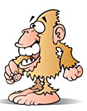 Children's Wall Decals - Cartoon Bigfoot - 12 inch Removable Graphic