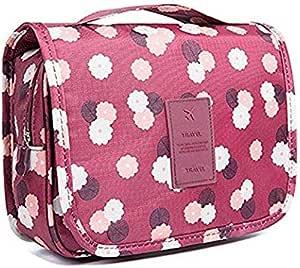 حقيبة تخزين محمولة مضادة للماء لأدوات التجميل ومستحضرات التجميل للسفر مع خطاف من شركة ألينك