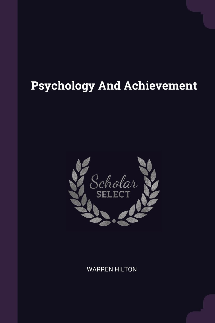 Psychology And Achievement ebook