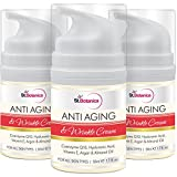 Cheap St.Botanica AntiAging & Anti Wrinkle Cream 50ml (With Co-Q10, Hyaluronic acid, Vitamin E & Argan Oil) – Pack of 3