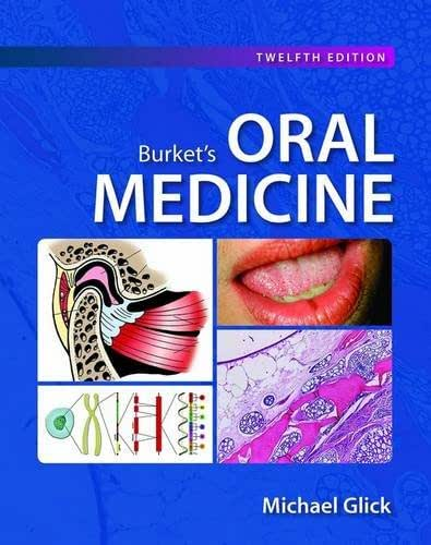 Burket's Oral Medicine 12th Edition