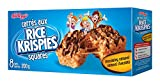 Kellogg's Rice Krispies Square Bars, 8 Chocolatey Caramel Cereal Bars 200 Gram