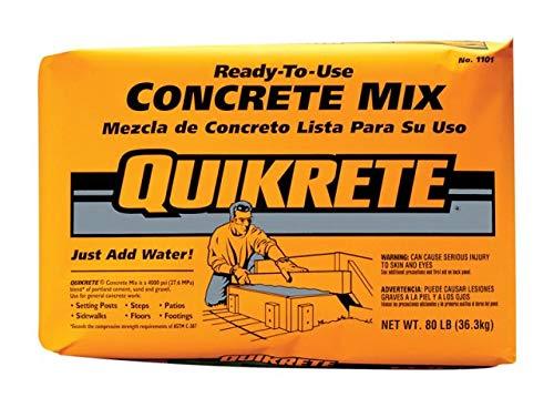 (Quickrete 110180 80LB Concrete Mix)