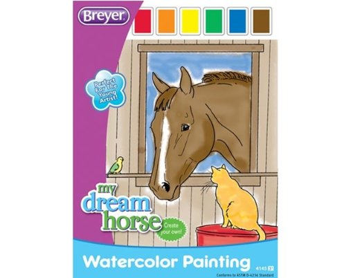 breyer-horse-watercolor-painting-book