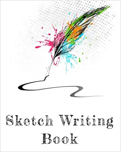 """Sketch Book For 8 Year Old: Blank Journals To Write In, Doodle In, Draw In Or Sketch In, 8"""" x 10"""", 150 Unlined Blank Pages (Blank Notebook & Diary)"""
