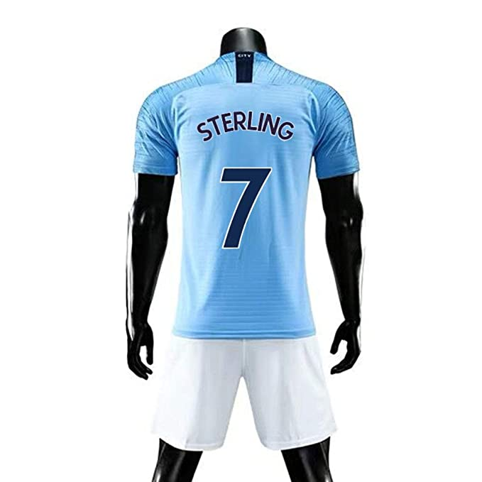 Amazon.com: Raheem Sterling #7 - Conjunto de camiseta de ...