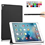 Infiland Ultra Slim Lightweight Smart Shell Stand Cover Case for iPad Pro 12.9-inch iOS 9 Tablet 2015 Release - Black