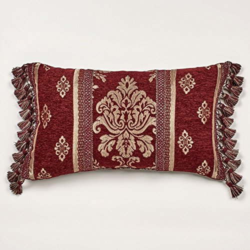 J Queen New York Dynasty Red Pillow - - New York Queens Center