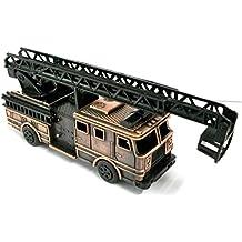 Fire Engine Ladder Truck Die Cast Metal Collectible Pencil Sharpener