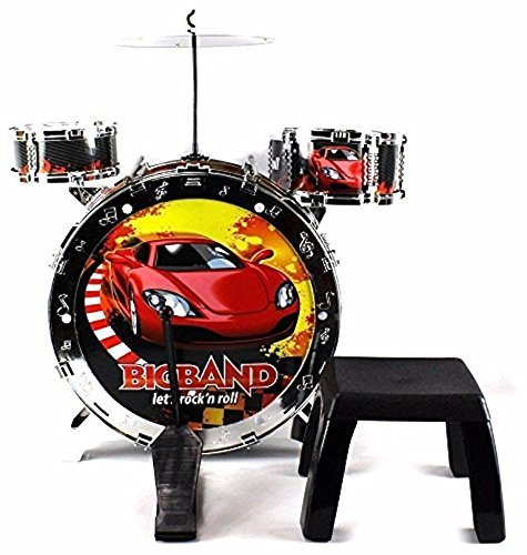 A to Z 01880 Light up Drum Kit with Stool
