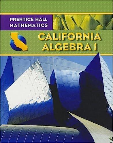 Amazon algebra 1 california edition prentice hall algebra 1 california edition prentice hall mathematics student edition fandeluxe Images