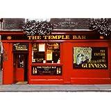 1art1 49554 Bars - Dublin, Temple Bar, Guinness Poster 91 x 61 cm