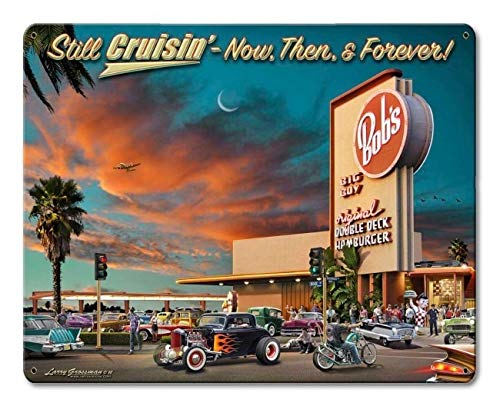 Premium Sign Co Bob's Big Boy Diner 1966 Still -