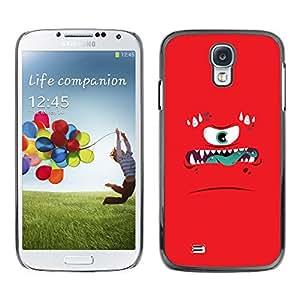 X-ray Impreso colorido protector duro espalda Funda piel de Shell para SAMSUNG Galaxy S4 IV / i9500 / i9515 / i9505G / SGH-i337 - Monster Anger Angry Kids Children