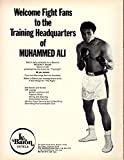 Muhammad Ali vs Ken Norton I On-Site Boxing Program
