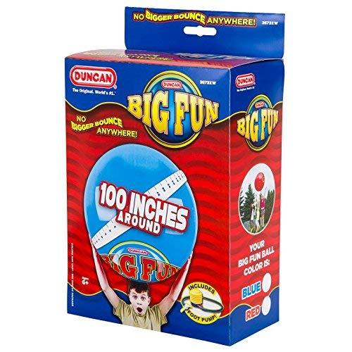 Duncan 3673XW Big Fun/Mega Bounce, Blue/Red (Assorted) ()