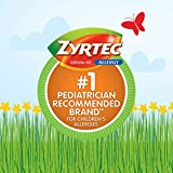 Zyrtec Children's 24 HR Dissolving Allergy Relief Tablets with Cetirizine, Citrus Flavored, 24 ct