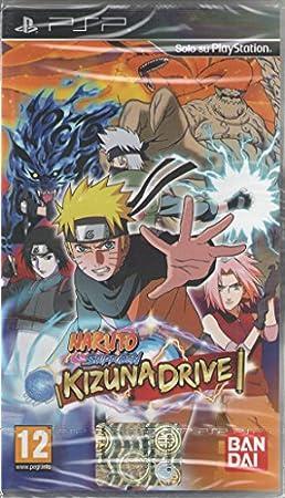 Naruto Shippuden Kizuna Drive - PSP