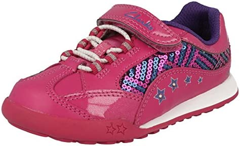 Clarks Girls Light-Up Trainers Giggle