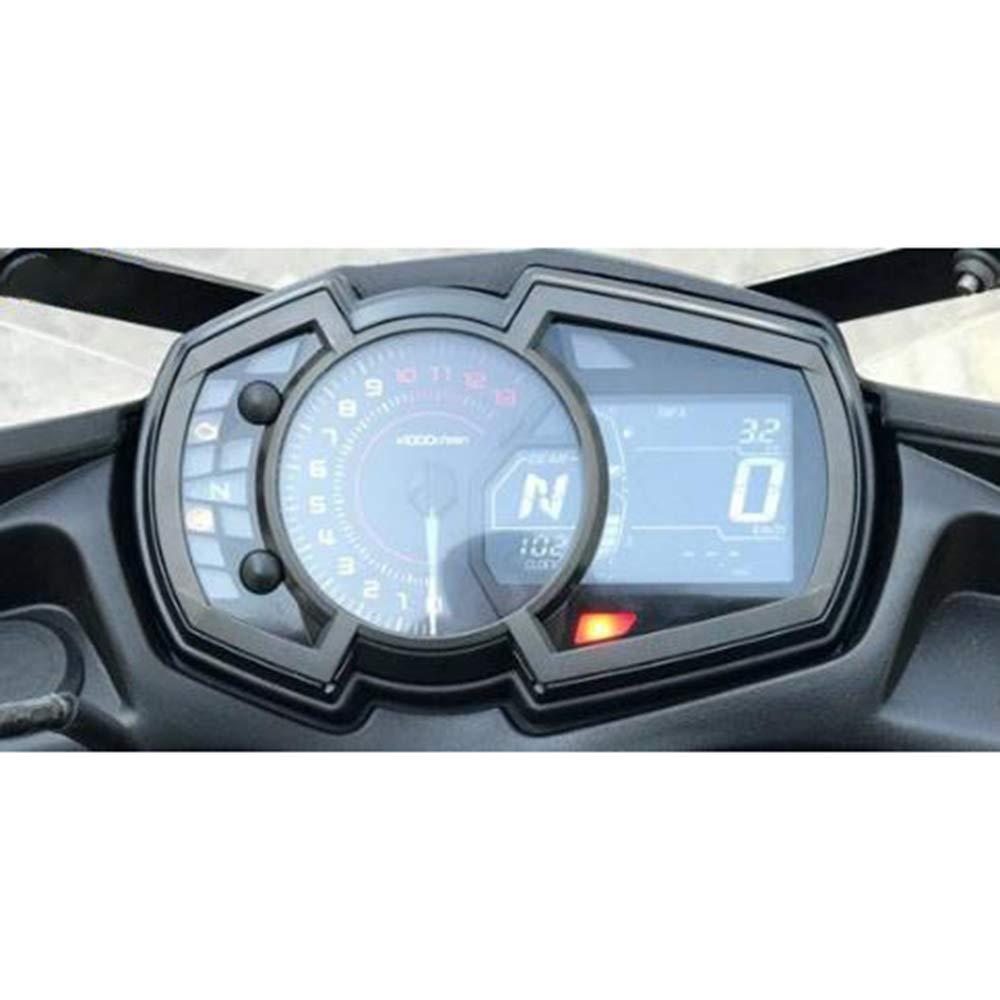 2018 Dashboard Tachometer Cluster Kratzschutz Folie Speedo Guards Armaturenbrett Abdeckung JFG RACING Kawasaki Ninja 650 2017