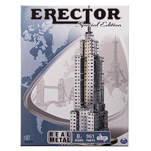 Erector Empire State Building set by Erector