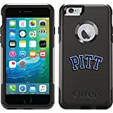 Coveroo Commuter Series Cell Phone Case for iPhone 6 Plus - Retail Packaging - Pittsburgh Pitt Design