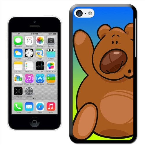 Fancy A Snuggle ''Big braun kuscheliger Teddy Bear'Snuggle Hartschalenhülle für Apple iPhone 5C