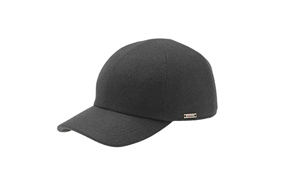 Wigens Mens Kent (Edgar) Wool Baseball Cap with Earflaps at Amazon ... 07e2592867f