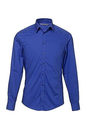 Homme SLIM Couleur Chemise Drykorn FIT JAKE Bleu Chemises 7XwtHT