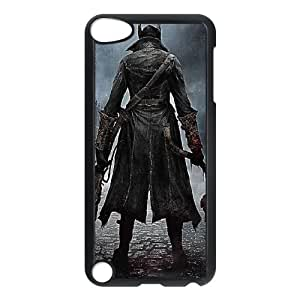 Popular And Durable Designed TPU Case With bloodborne 2015 iPod Touch 5 Case Black