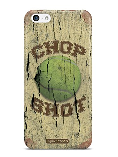 Inspired Cases 3D Textured Chop Shot - Tennis Case for iPhone 5c (Tennis Cases For Iphone 5c)