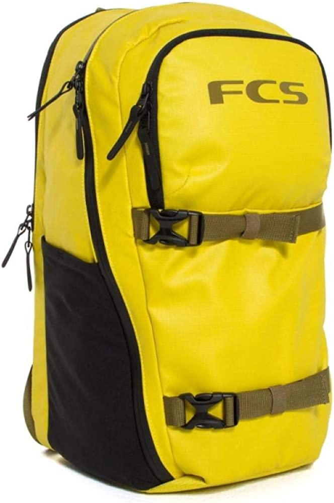 FCS Roam Yellow Day Pack 24L zaino PE19: Amazon.es: Ropa y accesorios