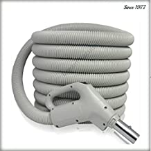 Central Vacuum Hose 40ft Low Voltage Hose Crushproof Fits NuTone, Beam, Electrolux, Vacuflo, Vacumaid and more!