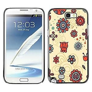 Dragon Case - FOR Samsung Note 2 N7100 - ?I hope I go far - Caja protectora de pl??stico duro de la cubierta Dise?¡Ào Slim Fit