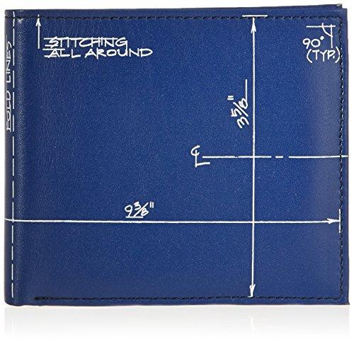 - ACME Studios Blueprint Billfold and Coin Wallet by Constantin Boym (LCB01BCW)
