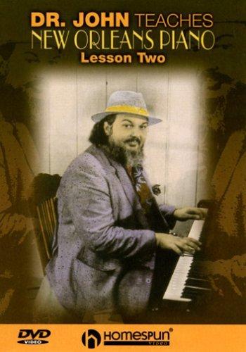 DVD-Dr John Teaches New Orleans Piano-Lesson Two by REBENNACK,JOHN