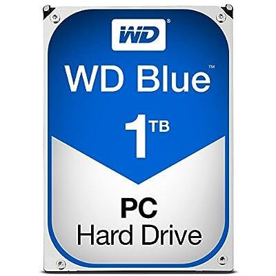 WD Blue 1TB Desktop Hard Disk Drive - 7200 RPM SATA 6 Gb/s 64MB Cache 3.5 Inch - WD10EZEX from Western Digital