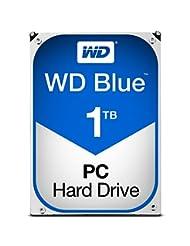 WD Blue 1TB SATA 6 Gb/s 7200 RPM 64MB Cache 3.5 Inch Desktop ...