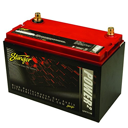 Stinger SPP2150 2150 Amp SPP Series Dry Cell Battery with Protective Steel Case