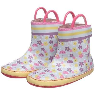 Amazon Com Robeez Mini Shoez Splish Splosh Rain Boot