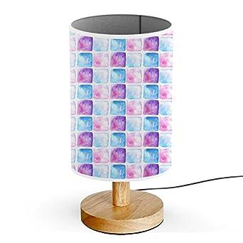 artsylight schreibtischlampe led holz tischlampe usb stecker schlafzimmer nachttischlampe coole aquarellpalette - Coole Nachttischlampen