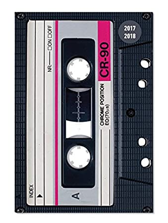 Collegetimer Pocket Tape 2017/2018 - Schülerkalender A6 - Weekly